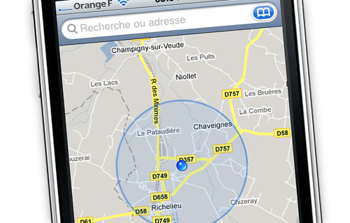 Rencontre geolocalisee iphone